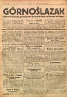 Górnoślązak, 1915, R. 16, Nr. 87