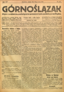 Górnoślązak, 1915, R. 16, Nr. 119