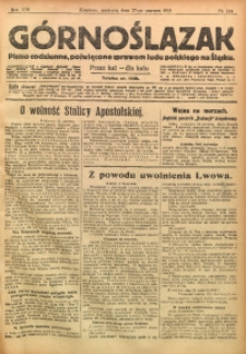 Górnoślązak, 1915, R. 16, Nr. 144
