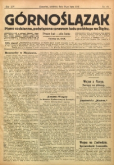 Górnoślązak, 1915, R. 16, Nr. 161