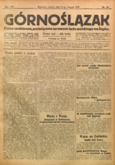 Górnoślązak, 1915, R. 16, Nr. 192