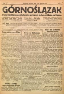 Górnoślązak, 1916, R. 15, Nr. 4