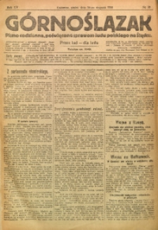 Górnoślązak, 1916, R. 15, Nr. 10