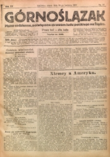 Górnoślązak, 1916, R. 15, Nr. 96