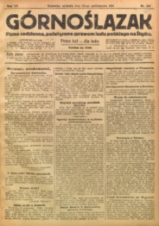 Górnoślązak, 1916, R. 15, Nr. 244
