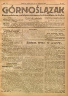 Górnoślązak, 1916, R. 15, Nr. 271