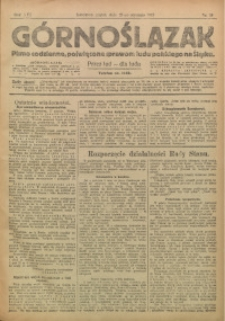 Górnoślązak, 1917, R. 16, Nr. 14