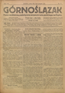 Górnoślązak, 1917, R. 16, Nr. 77