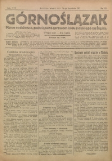 Górnoślązak, 1917, R. 16, Nr. 92