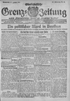 Oberschlesische Grenz-Zeitung, 1921, Jg. 49, Nr. 11