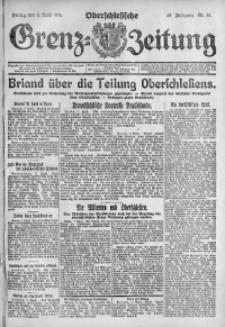 Oberschlesische Grenz-Zeitung, 1921, Jg. 49, Nr. 81