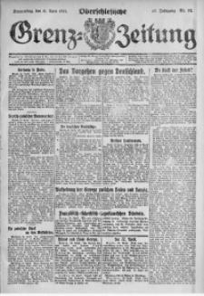 Oberschlesische Grenz-Zeitung, 1921, Jg. 49, Nr. 92