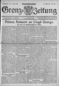 Oberschlesische Grenz-Zeitung, 1921, Jg. 49, Nr. 115
