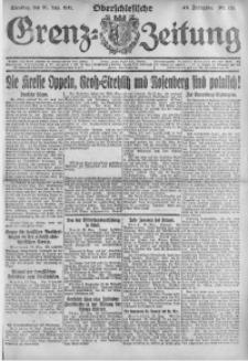 Oberschlesische Grenz-Zeitung, 1921, Jg. 49, Nr. 131