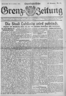 Oberschlesische Grenz-Zeitung, 1921, Jg. 49, Nr. 171
