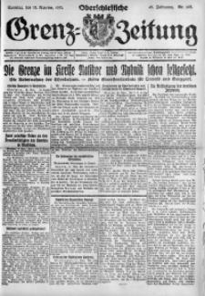 Oberschlesische Grenz-Zeitung, 1921, Jg. 49, Nr. 195