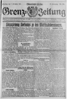 Oberschlesische Grenz-Zeitung, 1921, Jg. 49, Nr. 214