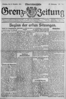 Oberschlesische Grenz-Zeitung, 1921, Jg. 49, Nr. 218