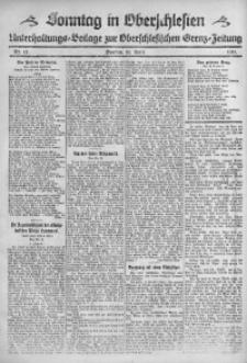 Sonntag in Oberschlesien, 1921, Nr. 12