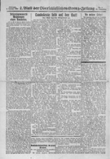 Oberschlesische Grenz-Zeitung, 1922, Jg. 50, Nr. 2