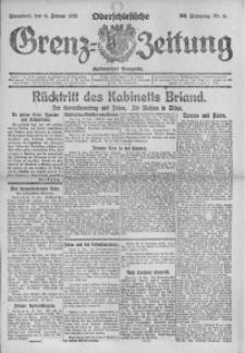 Oberschlesische Grenz-Zeitung, 1922, Jg. 50, Nr. 11