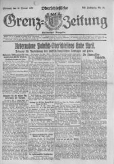 Oberschlesische Grenz-Zeitung, 1922, Jg. 50, Nr. 14