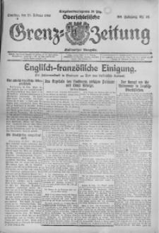 Oberschlesische Grenz-Zeitung, 1922, Jg. 50, Nr. 48