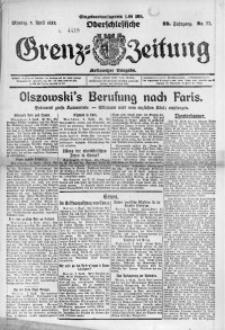 Oberschlesische Grenz-Zeitung, 1922, Jg. 50, Nr. 77