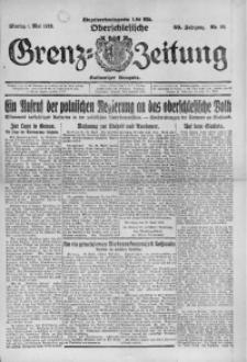 Oberschlesische Grenz-Zeitung, 1922, Jg. 50, Nr. 99