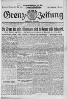 Oberschlesische Grenz-Zeitung, 1922, Jg. 50, Nr. 104