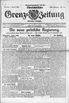 Oberschlesische Grenz-Zeitung, 1922, Jg. 50, Nr. 174