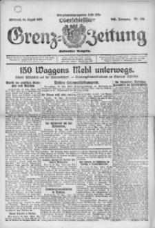 Oberschlesische Grenz-Zeitung, 1922, Jg. 50, Nr. 198