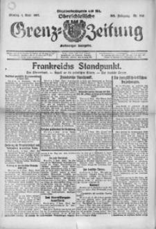 Oberschlesische Grenz-Zeitung, 1922, Jg. 50, Nr. 202