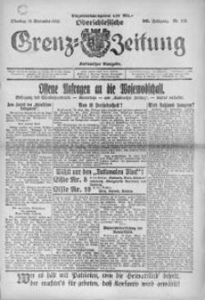 Oberschlesische Grenz-Zeitung, 1922, Jg. 50, Nr. 215