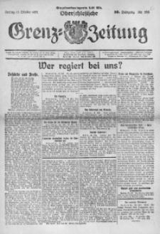 Oberschlesische Grenz-Zeitung, 1922, Jg. 50, Nr. 236