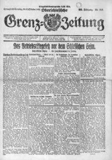 Oberschlesische Grenz-Zeitung, 1922, Jg. 50, Nr. 249