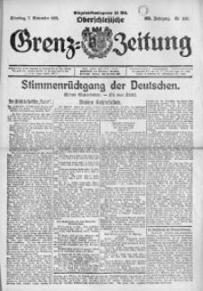 Oberschlesische Grenz-Zeitung, 1922, Jg. 50, Nr. 257