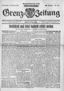Oberschlesische Grenz-Zeitung, 1922, Jg. 50, Nr. 259