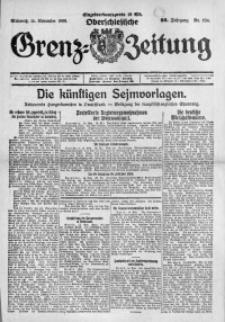 Oberschlesische Grenz-Zeitung, 1922, Jg. 50, Nr. 264