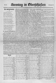 Sonntag in Oberschlesien, 1922, Nr. 10