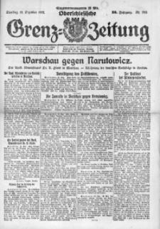 Oberschlesische Grenz-Zeitung, 1922, Jg. 50, Nr. 286