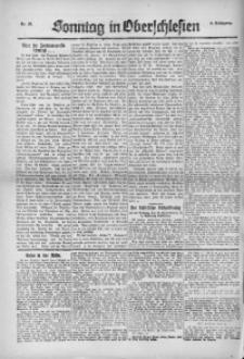 Sonntag in Oberschlesien, 1922, Nr. 28
