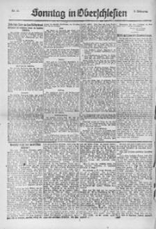 Sonntag in Oberschlesien, 1922, Nr. 31