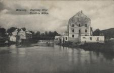 Brzeżany. Zburzony młyn, 1915 r.