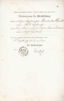 Akt zawarcia małżeństwa z 17.11.1902 r.