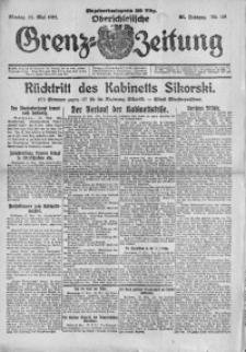 Oberschlesische Grenz-Zeitung, 1923, Jg. 51, Nr. 119