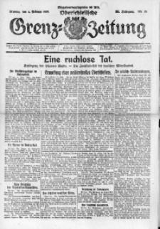 Oberschlesische Grenz-Zeitung, 1923, Jg. 51, Nr. 28