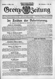 Oberschlesische Grenz-Zeitung, 1924, Jg. 52, Nr. 59