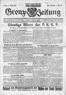 Oberschlesische Grenz-Zeitung, 1924, Jg. 52, Nr. 68