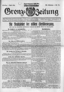Oberschlesische Grenz-Zeitung, 1924, Jg. 52, Nr. 76